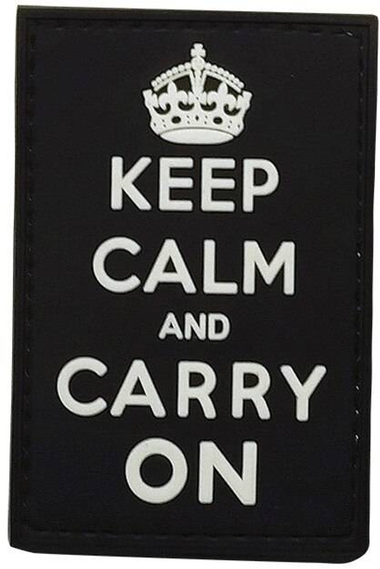 5ive Star Gear Keep Calm and Carry On Patch 6767000 690104413105