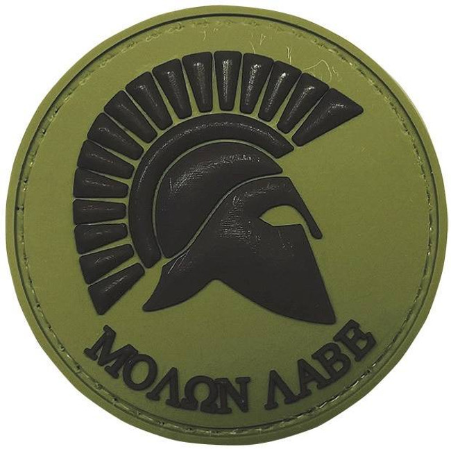 5ive Star Gear OD Green Molon Labe Morale Patch