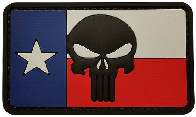 5ive Star Gear Texas Flag Punisher Patch