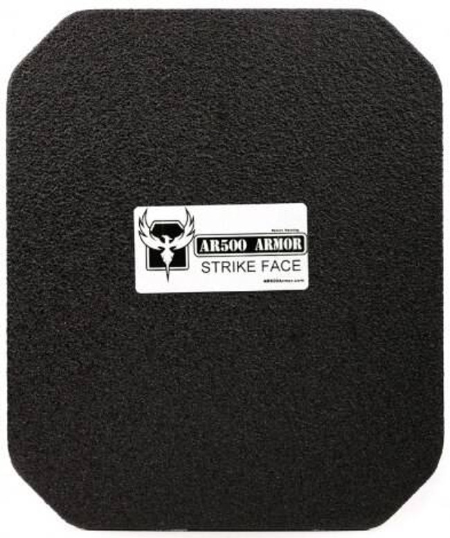 AR500 Armor Level III Square Back Plate 10 x 12 BK-IIIPLUS