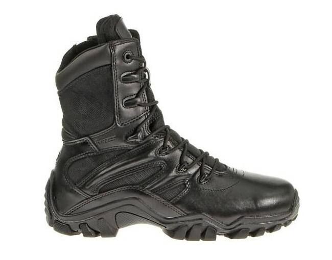 Bates Footwear 8 Side Zip Delta Boot 2348 2348