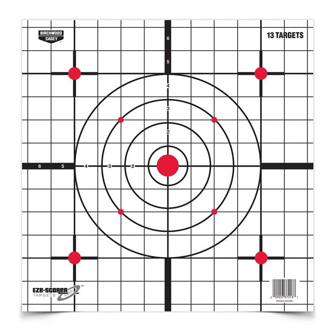 Birchwood Casey EZE-Scorer Paper Targets - EZE-37213 EZE-37213