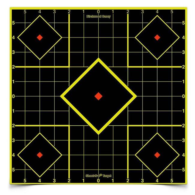 Birchwood Casey Shoot NC Self-Adhesive Targets 8 and 12 Sight-In Packs - SIGHTIN-34105 SIGHTIN-34105