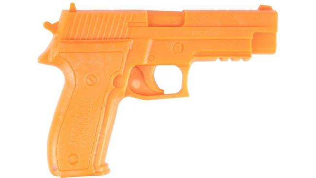 Blackhawk Demo Gun SIG 226 W/Rail Sized Weapon with Rails 44DG226ROR 648018127243
