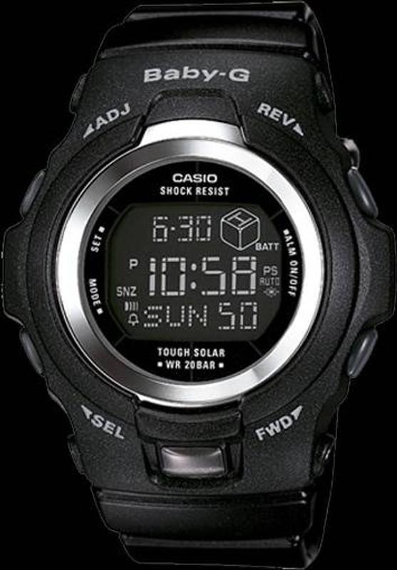 Casio BGR300-1 Solar Powered Baby-G Watch BGR300-1