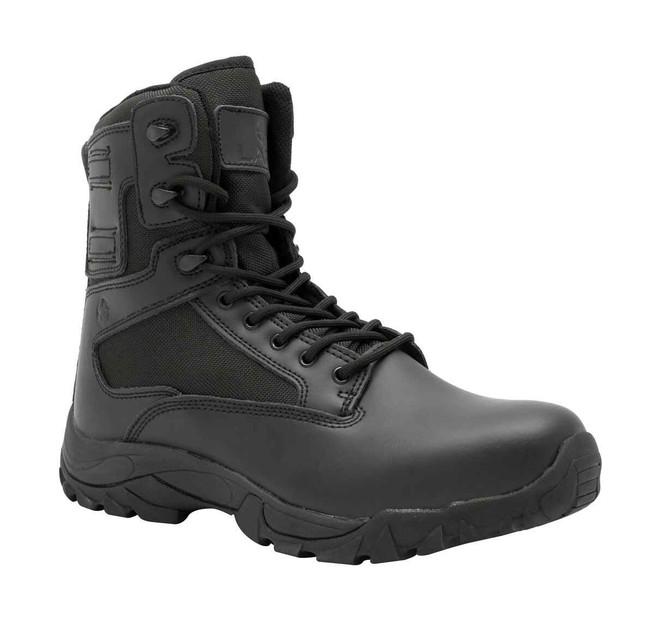 LAPG Black Classic 8 Side Zip Duty Boot 2.0 D8001-BLACK