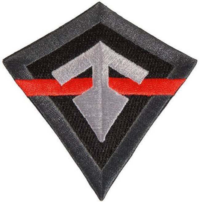 First Tactical Thin Red Line Logo Patch 195029 689076862714