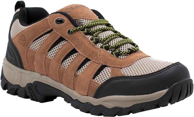 LA Police Gear Atlas™ Brown Low Hiker Shoe H001L-BROWN