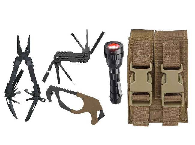 Gerber Individual Deployment Kit - Coyote Brown Pouch 30-000366 013658122321