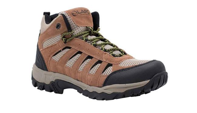 LA Police Gear Atlas™ Brown Mid Hiker Shoe H002M-BROWN