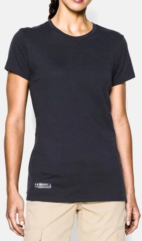 Under Armour Tactical Womens Charged Cotton T-Shirt 1235247