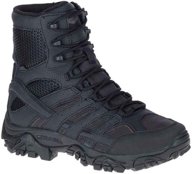Merrell Womens MOAB 2 8 Tactical WP Boot - Black Waterproof Boot J17720