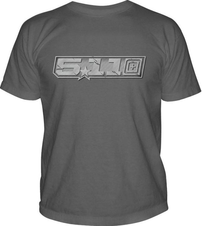 5.11 Tactical Gunmetal Logo T-Shirt 41006BV 511-41006BV