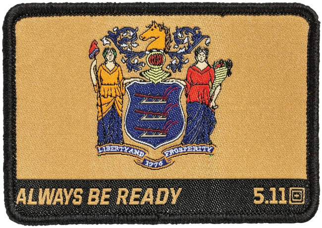 5.11 Tactical New Jersey State Patch 81233 81233 888579184648