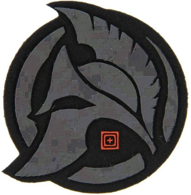5.11 Tactical Spartan Felt Patch 81282 81282