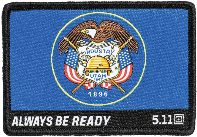 5.11 Tactical Utah State Flag Woven Patch 81288 81288 888579190281