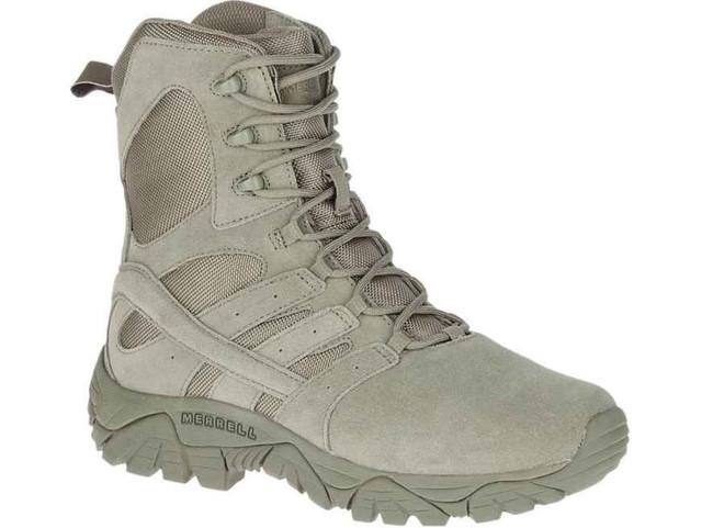 Merrell Womens MOAB 2 Defense Sage Green Boot J17776