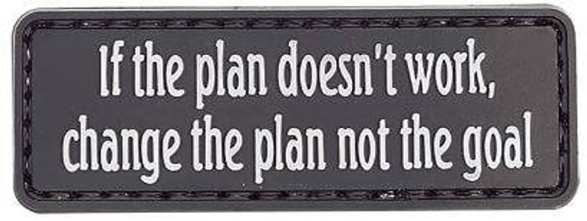 5ive Star Gear If The Plan Doesnt Work Morale Patch 6687000 690104492827