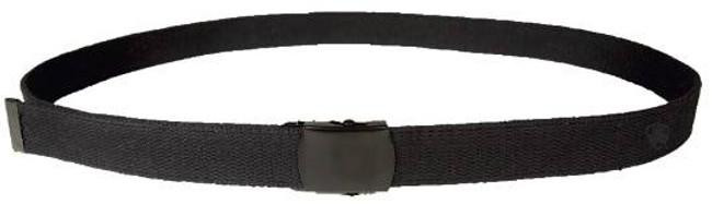 5ive Star Gear Web Belt - Black Close Face Buckle - BLACKBUCKLEWEBBELT-5 BLACKBUCKLEWEBBELT-5