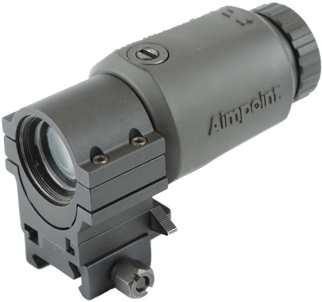 Aimpoint 3X-C Magnifier with 39mm FlipMount and TwistMount Base 200342 7350004385232