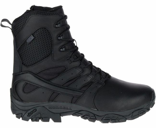 "Merrell Moab 2 8"" Tactical Response Waterproof Boot Black J45335"