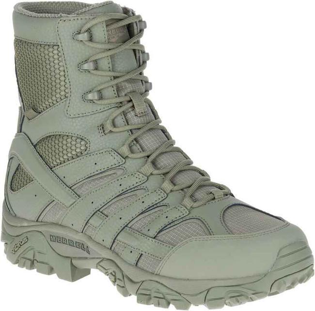 Merrell MOAB 2 8 Tactical WP Boot - Sage Waterproof Boot J17711