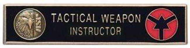 ASP Gold Instructor Uniform Bar 59223 092608592230