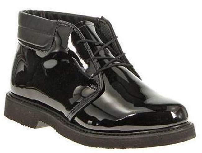 Bates Footwear Mens Lites High Gloss Padded Collar Chukka E00053
