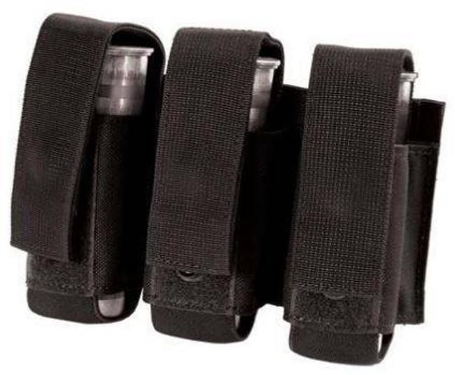 Blackhawk S.T.R.I.K.E. MOLLE Triple 40MM Grenade Pouch black