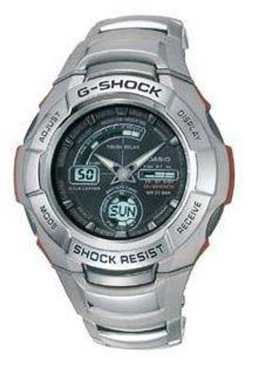 Casio GW1210A-1AV Gray Atomic Tough Solar G-Shock Watch GW1210A-1AV