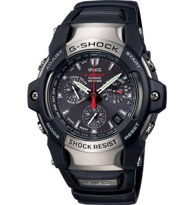 Casio GS1100 G-Shock Atomic Solar Black Watch GS1100-1AAA