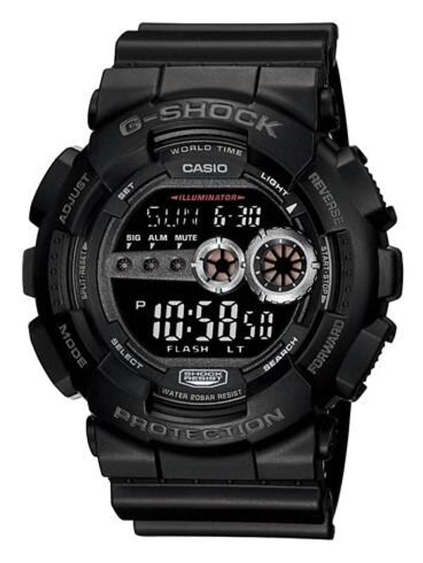 Casio GD100-1B G-SHOCK XL-Super LED Watch GD100-1B 079767925109