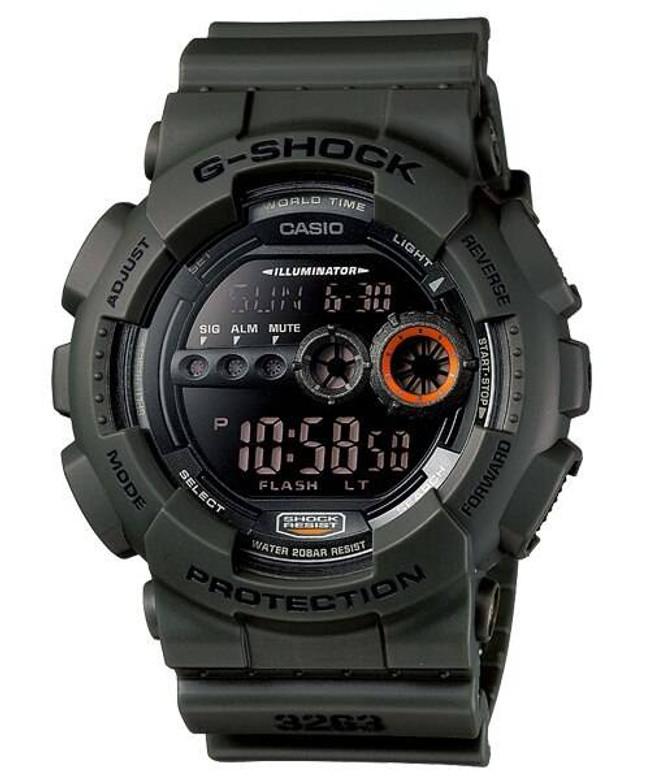 Casio GD100MS-3 G-SHOCK Watch GD100MS-3 079767934613