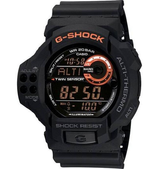 Casio GDF100-1B G-SHOCK XL Super LED/Twin Sensor Watch GDF100-1B 079767937027