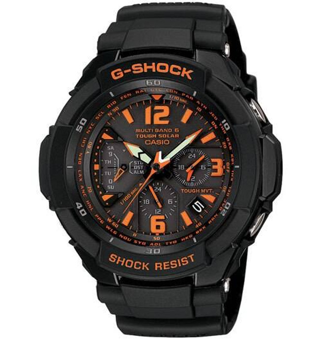 Casio GW3000B-1A G-SHOCK Aviation Watch GW3000B-1A