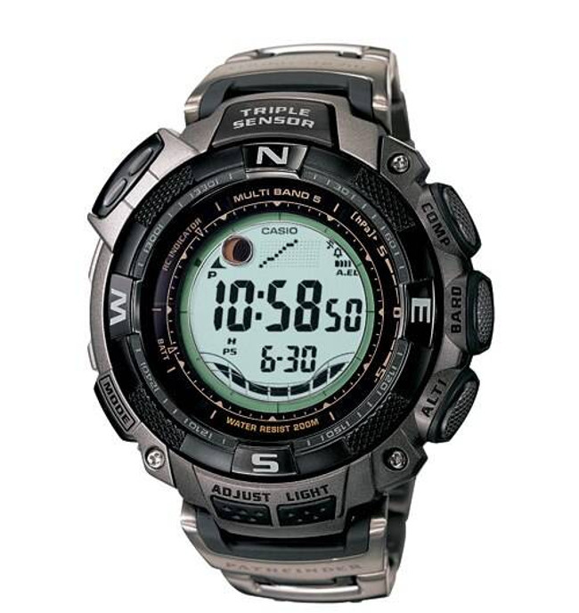 Casio Pathfinder PAW1500T-7V Watch PAW1500T-7V 079767892272