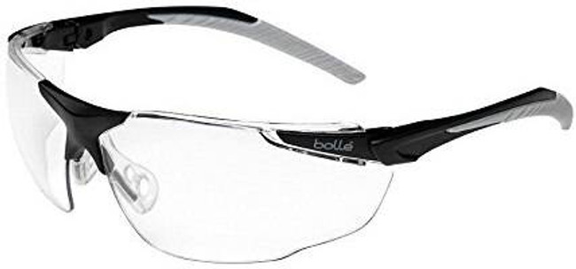 Bolle Clear Universal Safety Glasses BOLLE-40154G 054917285029