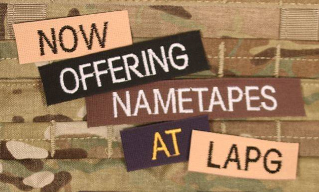 Custom Embroidered Name Tapes CUSTOM-NAME-TAPE