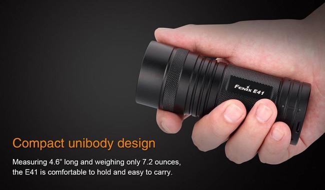 Fenix Lighting E41 1,000 Lumen Pockt-Sized Searchlight E41 6942870302898