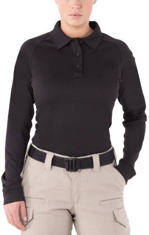 First Tactical Womens Performance Long Sleeve Polo 121503