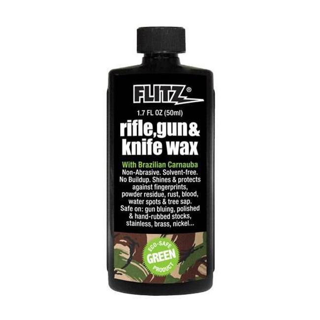 Flitz Rifle, Gun and Knife Wax 1.7oz Bottle FZGW02785