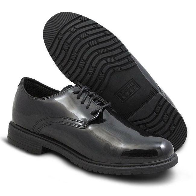 Original S.W.A.T. Black Dress Oxford Shoe