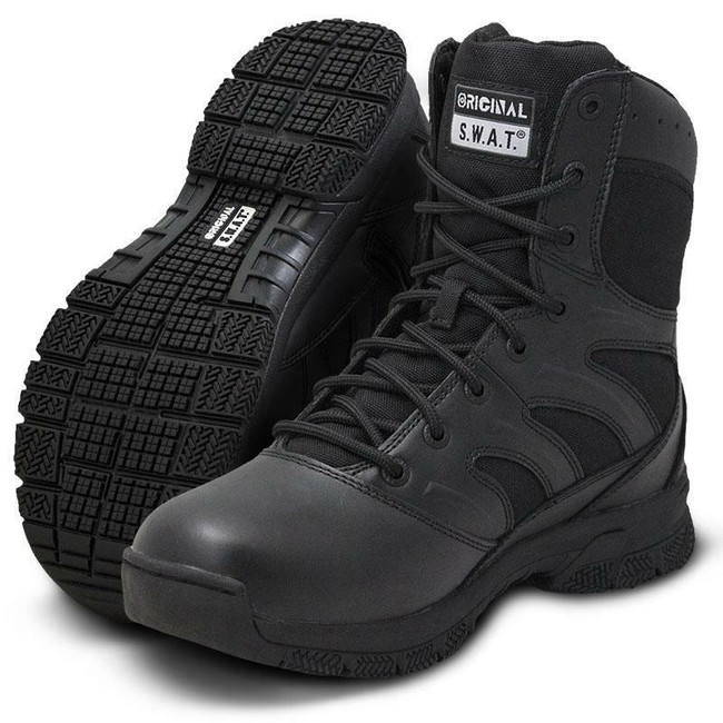 "Original S.W.A.T. Force 8"" Black Waterproof Boot"