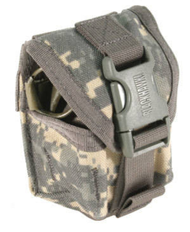 Blackhawk STRIKE Frag Grenade Pouch Single with Speed Clips Limited Colors BPG-38CL12