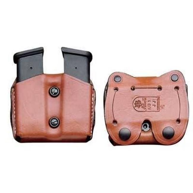 DeSantis Gunhide Double Leather Magazine Pouch A01