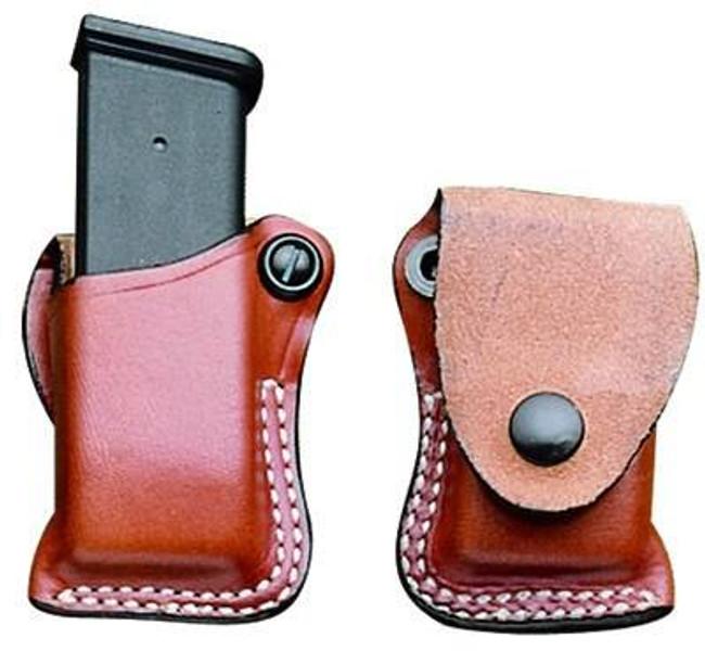 DeSantis Gunhide FTU Single Leather Magazine Pouch - A49TBOOZ0 A49-A49TBOOZ0