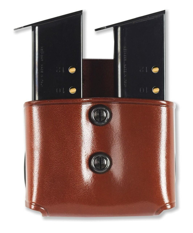 Galco DMP Double Magazine Paddle tan front