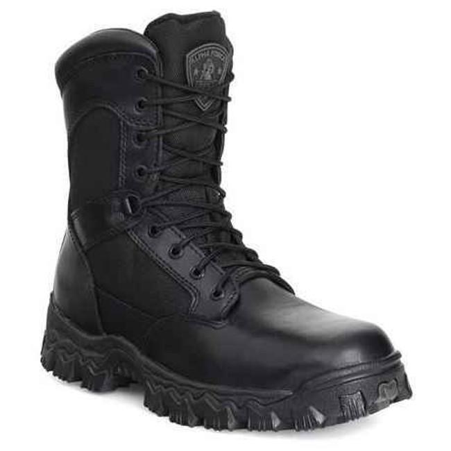 Rocky Alpha Force Waterproof Side Zip 8 Duty Boot 2173