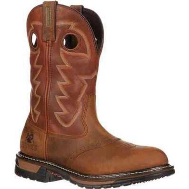 Rocky Branson Saddle Roper Waterproof Western Boots 2775 2775