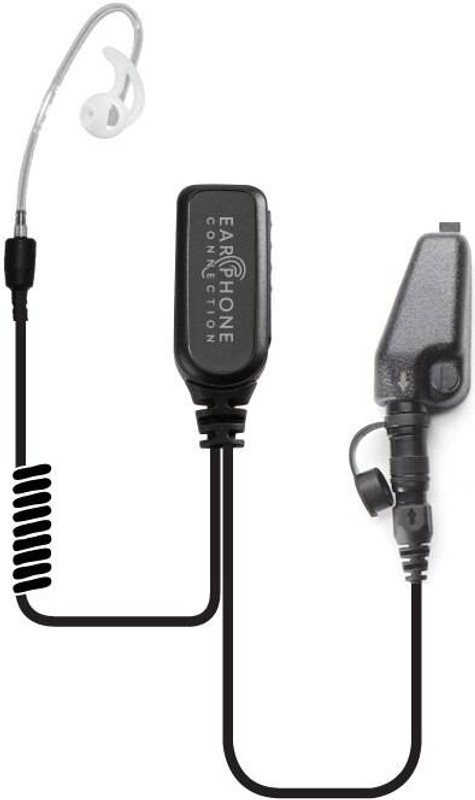 Earphone Connection Coyote Short Tube Label Microphone COYOTE